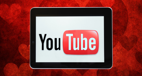 On Valentine's Day, Celebrate YouTube's 8th Birthday with This Loving Look Back