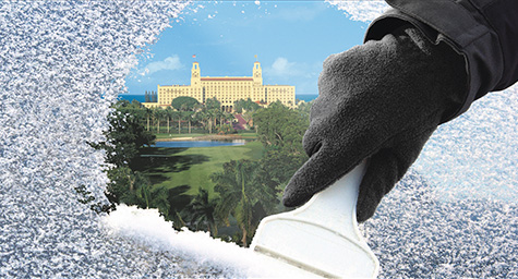 creative hotel marketing campaign for The Breakers Palm Beach