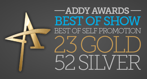 MDG Advertising Wins 77 ADDY® Awards, Including Best of Show and Best of Advertising Self-Promotion