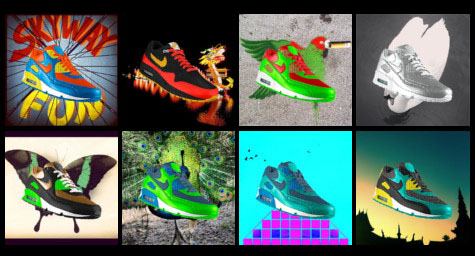Nike Customizes Shoe Campaign For Instagram Users