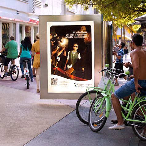 MDG Develops Cool Outdoor Advertising Campaign to Highlight HCA's Miami-Dade Hospitals