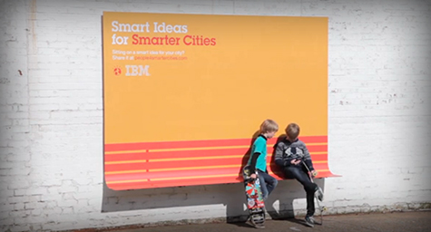 IBM Launches Brilliant Outdoor Advertising Campaign With a Purpose [Video]