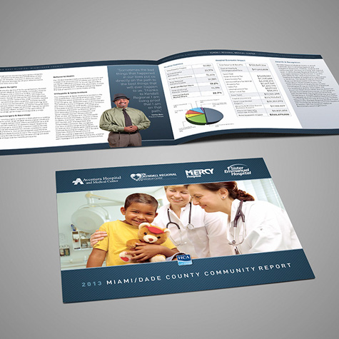MDG Creates a Healthy Collection of Community Reports for HCA East Florida Hospitals