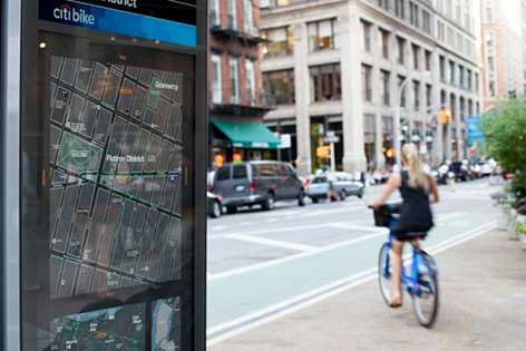 New York City Moves Ahead with New Graphic Pedestrian Wayfinding Program
