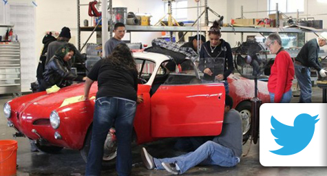 High School Students Build Car Fueled by Social Media Likes, Shares, and Tweets