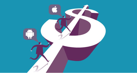 New Study Shows Facebook Ads are 1,790% More Profitable on iPhone than Android