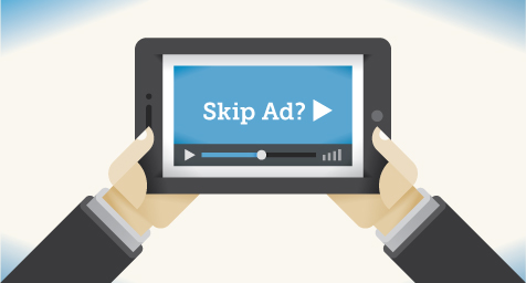 YouTube Finds that Mobile Viewers Will Even Watch Online Ads They Have the Option to Skip