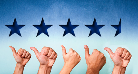 Facebook Expiriments with Star Ratings