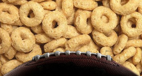 Cheerios Trades the Breakfast Bowl for the Super Bowl