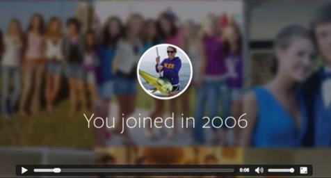 Facebook Celebrates its 10th Anniversary by Giving Users 62 Seconds of Fame