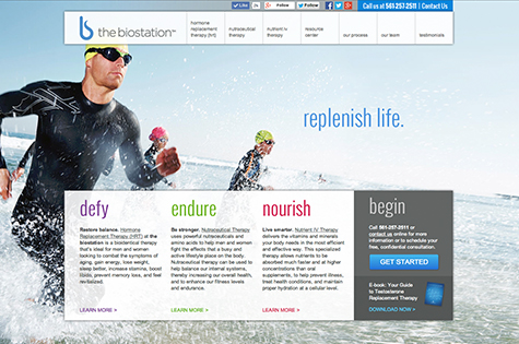 web design for healthcare companies