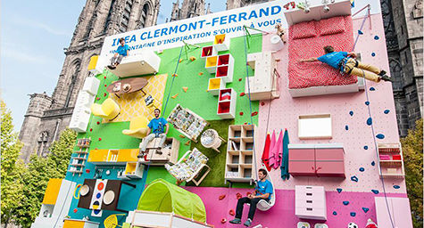 "Creative Outdoor Advertising is Alive and ""Wall"" at Ikea"