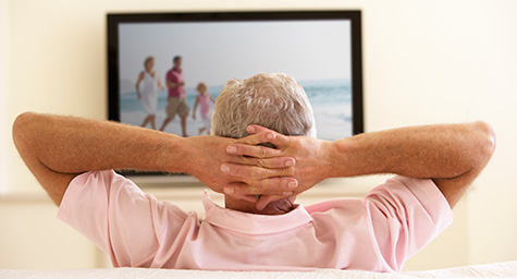 Network TV Viewers Getting Older