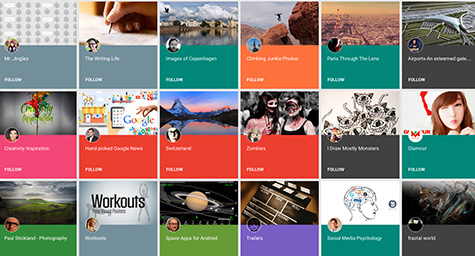 Google+ Gets On Board with Users' Interests with Debut of Collections