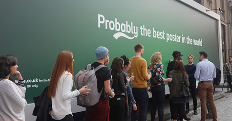 Carlsberg Brews Up a Beer-Dispensing Billboard
