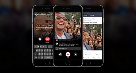 "Facebook ""Live"" is Streaming to Bring You Face-to-Face with the Famous"
