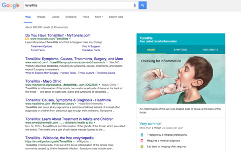 Google and Updated Healthcare Information
