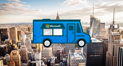 Guerilla Marketing Pops Up in Microsoft's Promotion of New NYC Store