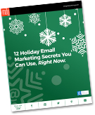"New E-book: ""12 Holiday Email Marketing Secrets You Can Use, Right Now"""