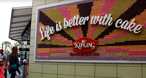 Open Your Eyes and Your Mouth to These Incredible Edible Billboards