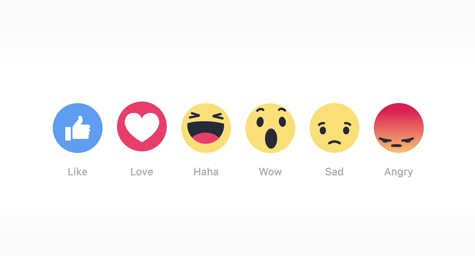 Facebook's Reactions