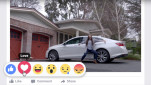 Chevy, Facebook Reaction Buttons
