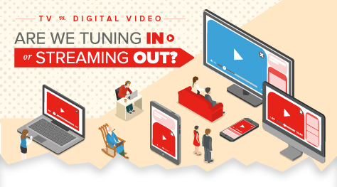 TV vs. Digital Video: Are We Tuning In or Streaming Out? [Infographic]