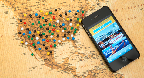 Travel Apps Being Discovered by a Growing American Audience