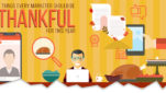 5 Things Every Marketer Should Be Thankful for This Year [Infographic]