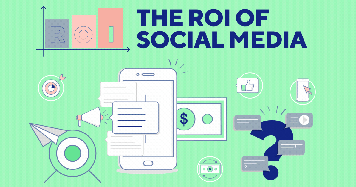 The Roi Of Social Media Infographic Mdg Advertising