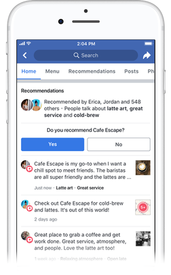 Facebook's New Recommendations Feature: What Local Businesses Need to Know